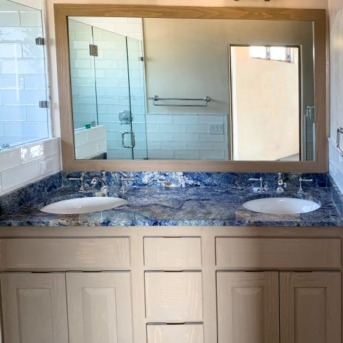 Southwestern Bathroom Double Vanity